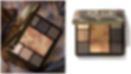 除了6色眼影還有明星打亮商品「金緻美肌粉」,Bobbi Brown全新推出限量金緻迷彩眼頰盤非入手不可