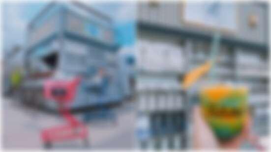 大稻埕碼頭貨櫃屋又新增一櫃!融合《延禧攻略》的莫蘭迪色調打造的「B HOUSE」這個角度拍最美