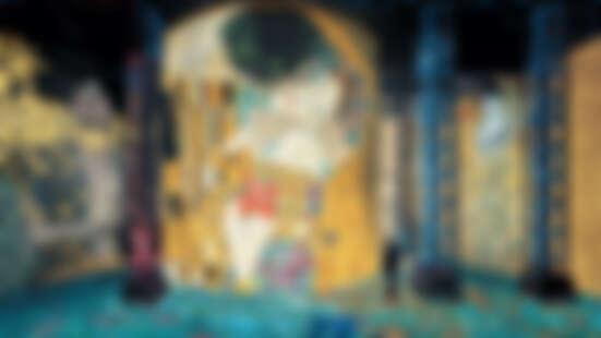 當克林姆的畫活了過來!巴黎「光之博物館」新媒體大展《Gustav Klimt》