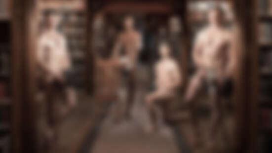 小鮮肉們為慈善募款全裸入鏡!集結游泳隊、曲棍球隊...劍橋大學2019裸體年曆來了