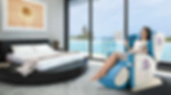 媽~我把峇里島搬回家了!讓人每天都想發懶軟爛的超舒服4手按摩,OSIM頂級居家按摩就是要把你寵壞