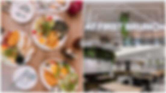 份量超大、CP值超高!信義區全新開幕早午餐店「At First Brunch緣來」工業風設計超好拍