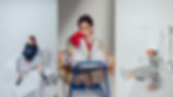 韓妞狂曬IG的New Balance #574Sv2來了!潮模謝琦琦試穿給妳看!