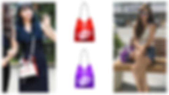 K-POP Star人手一咖!韓系大勢rosa.k 透視水桶包Pookey Pocket glass 雙面圖樣、活動內袋、長短背帶隨心搭配 最適合百變的你