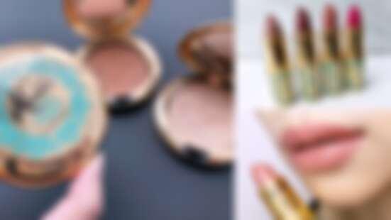 M·A·C x 迪士尼阿拉丁聯名系列彩妝登場,刻著神燈的打亮餅、肉桂玫瑰色口紅、茉莉公主眼影盤…就像神燈精靈一樣實現美麗願望