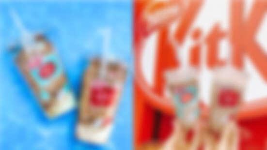 每一口都有餅乾脆片!全家推KitKat巧克力風味酷繽沙,還有冰淇淋螞蟻人必嚐啊~