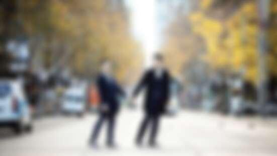 在蔡健雅演唱會上求婚的幸福情侶-小銘小玄:「我們一直在努力期待與追求的幸福,終於要來臨了!」