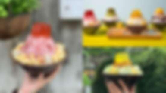 好丘山系剉冰全新回歸!碳烤地瓜泥阿里山、荔枝玫瑰合歡山......4款信義店獨家開賣