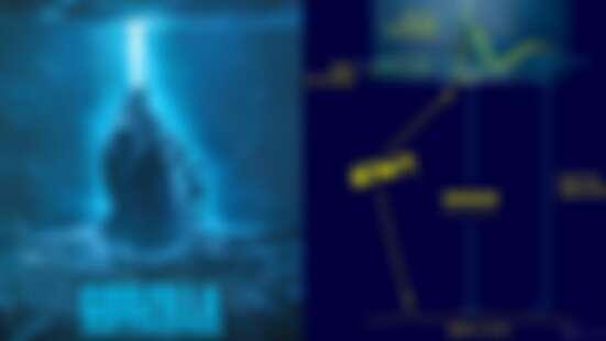 哥吉拉如何「站」在海上大解密!網友神解答:「原來水行俠偷幫忙」