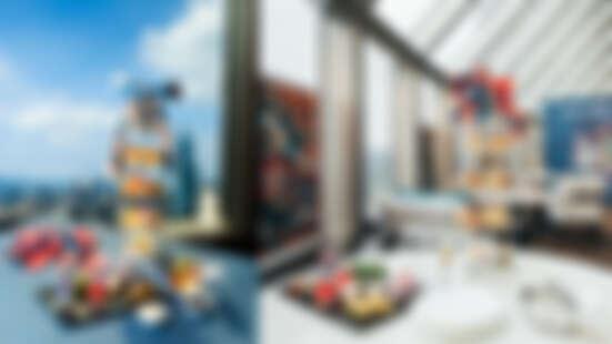 馬可波羅酒廊跨界玩時尚 攜手華裔設計師Daniel Wong創意推出期間限定《啟程Journey to 100 Prints》聯名下午茶