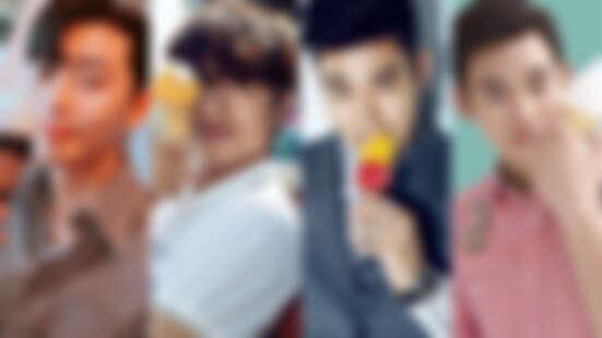 夏天就是要吃冰!冰與男人的甜滋滋瞬間,從孔劉 到 朴敘俊,你最想和誰一起吃冰淇淋?