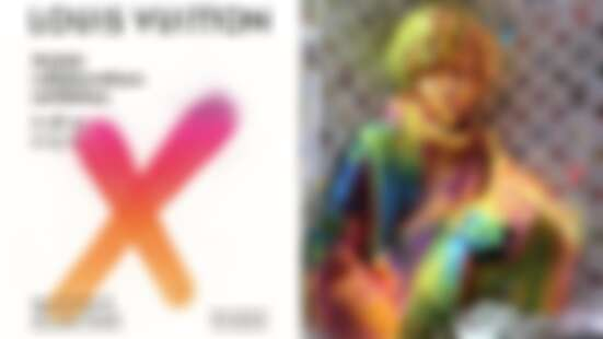 最夢幻的粉紅日落新打卡點!LV在洛杉磯開最強設計師聯名展《Louis Vuitton X》