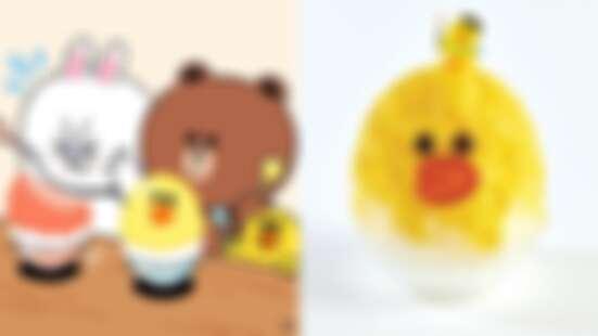 不要這樣玩莎莉!韓國推出期間限定「莎莉刨冰」實體居然長這樣