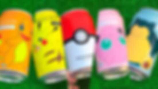史上最萌的氣泡水!OCEAN BOMBX寶可夢推出五款口味,獨家限定皮卡丘、胖丁、小火龍……每款都想蒐藏