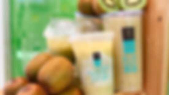 消暑必喝飲品!大苑子推出限量「奇異果系列」鮮果手搖飲,奇異果冰鑽還喝得到小碎冰