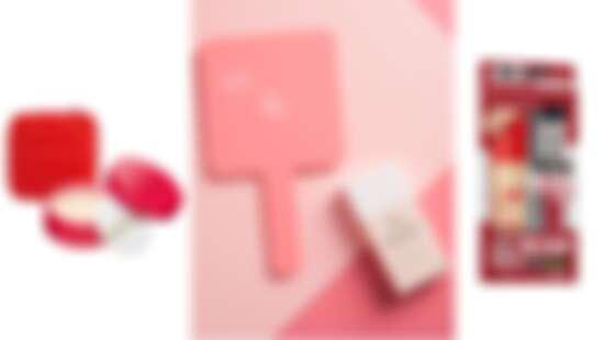 超生火開架彩妝限定組合!INTEGRAT果凍化妝包、Za小粉紅手拿鏡、RIMMEL粉底刷通通只送不賣,鐵粉們快趁機入手
