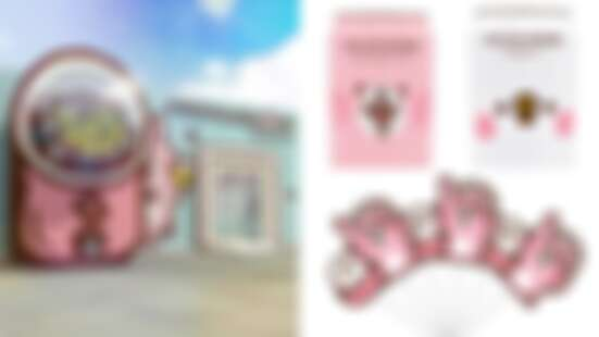 卡娜赫拉的扭扭世界期間限定店要來台中囉!獨家開賣玻尿酸氣泡飲、超萌粉紅公仔扇必收