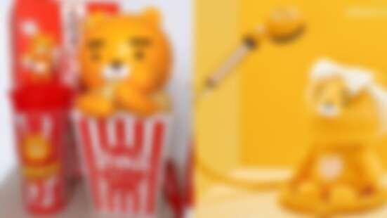Ryan無所不在!Kakao Friends推出超萌萊恩爆米花桶、蓮蓬頭、手持電風扇……滿滿萊恩超療癒