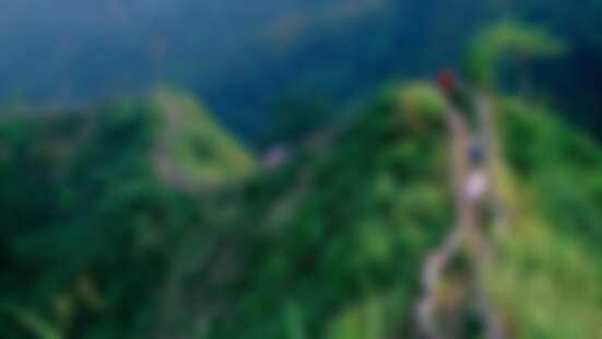 戶外愛好者必挑戰!「台中萬里長城」帶你通往童話森林,得先征服300公尺「垂直天梯」才能到達