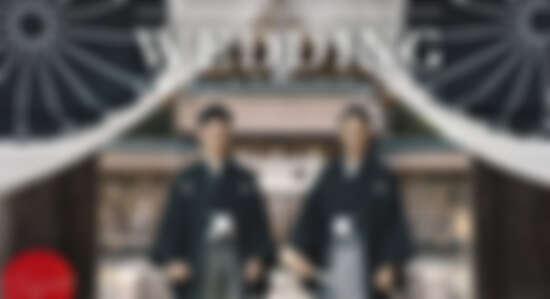 那畫面太美!日本男同夫夫 Youtuber「SHIBA and KOJI」神社婚禮紀錄影片,感動全世界!