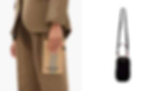 手機殼不再流行?現在都換揹手機包!Burberry推出經典條紋設計款、Prada打造時髦手機袋
