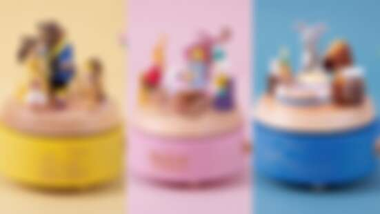 Wooderful life X迪士尼聯名推9款童話系列音樂盒,美女與野獸、小美人魚、愛麗絲夢遊仙境……