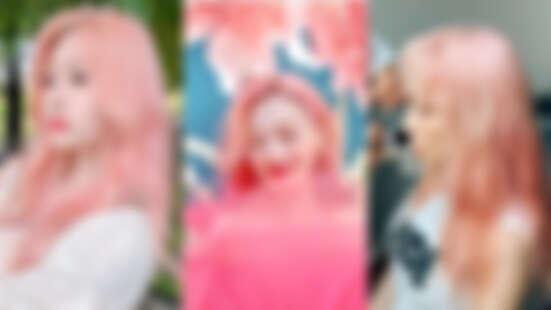 櫻花粉髮色再度回歸!不只雪莉,太妍和IZ*ONE金珉周都染了,白皙女孩一定要試試!