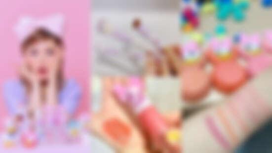 Etude House X 迪士尼聯名彩妝登場~Pony大神化身黛絲,彩妝控必收限量腮紅、刷具!