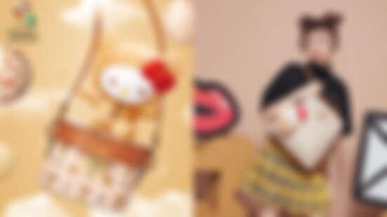 秋冬就是「熊愛你」!Arnold Palmer X Hello Kitty超萌放大絕!聯名鞦韆包帶妳飛高高~