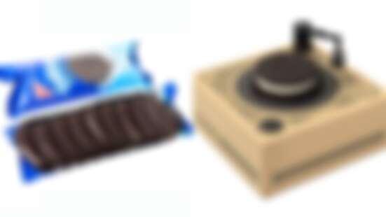 會唱歌的餅乾!「OREO黑膠唱盤」能吃又能聽,唱出屬於自己的主題曲