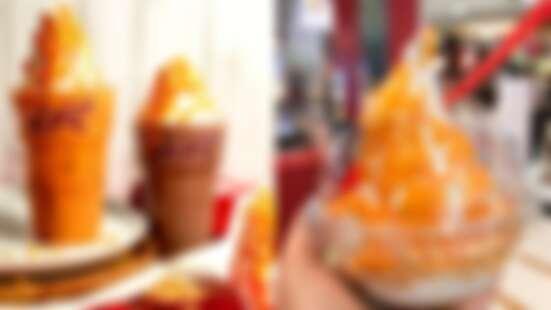 滿滿鹹蛋黃!泰國肯德基KFC推「鹹蛋黃」期間限定,漂浮泰奶、鹹蛋黃霜淇淋......