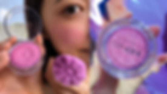 花農久等!倩碧小花腮紅超甜美「baby色薰粉紫」+軟萌可愛「花瓣刷」,等不及要來採收