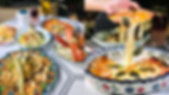 【西門町美食】JAI宅台中必訪網美餐廳插旗台北,必吃波士頓龍蝦、滿滿蛤蜊一起吃好吃滿