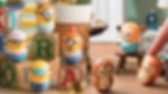 圓滾滾超療癒!「轉轉花生不倒翁」11款系列大公開,寶可夢、迪士尼公主、史努比、小小兵.....通通有
