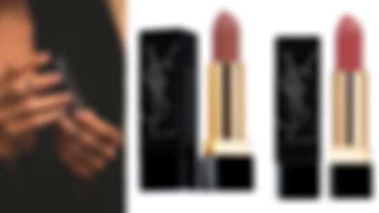 YSL奢華緞面唇膏首度推出曜黑訂製版!宛如撒上黑鑽般的細緻光芒,還有最適合秋天的奶茶色系