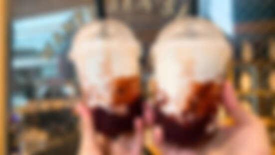 萬波快閃新口味喝起來!首度推出「紫米芋圓酪酪」,期間限定11天只送不賣