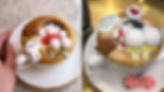 好想戳蠟筆小新的兩顆大屁屁!韓國「漂浮卡通咖啡廳」造成IG暴動,少女心一秒融化~