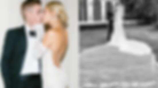 25歲小賈斯汀和辣妻海莉絕美婚照曝光!甜蜜擁吻放閃:「直到死亡將我們分開」