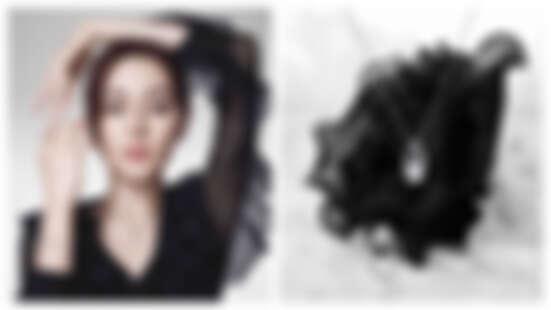 迪麗熱巴代言MIKIMOTO美炸,戴上M Collection新作品既優雅又有個性。