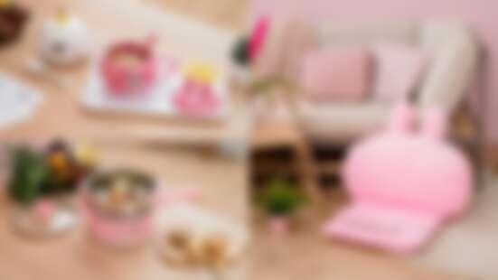 康是美X卡娜赫拉推出「共度療癒時光」14款粉紅居家小物,紓壓兩用枕、療癒沙發…可愛無極限