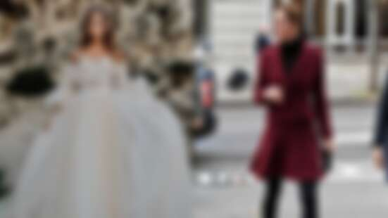 一個是女人此生夢幻婚紗、一個是凱特王妃的最愛!賈靜雯紅毯戰袍來頭可不小