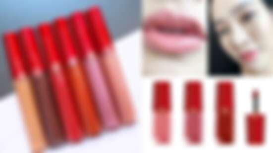 【2019聖誕彩妝】Giorgio Armani最熱賣的紅管、小胖瓶唇彩加入金色珠光更華麗!連黑管都推出限定新色
