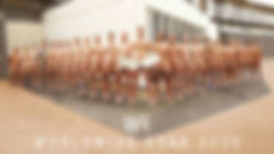 2020英國划船隊裸體年曆性感來襲!男大生一字排開全裸上陣,陽光翹臀看得讓人心情超好啊