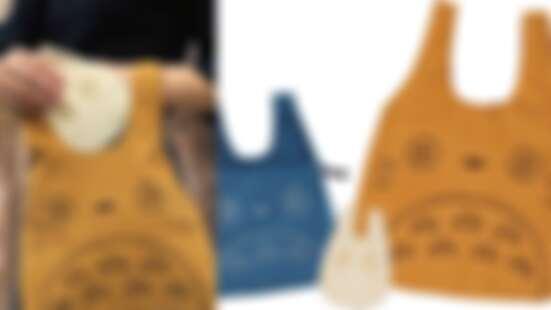3種尺寸全都想收藏!「龍貓燈芯絨包袋」開賣,呆萌表情太療癒+溫暖質感一定要入手