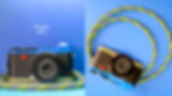 徠卡相機二度聯名英國設計師Paul Smith!限量版Leica CL大綻街頭潮味