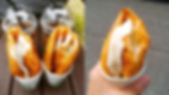 太誘人!韓國超人氣必吃美食「起司糖餅」,香濃爆漿起司吃一口就回不去了
