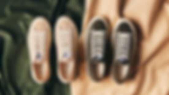 氣質女孩必入手!餅乾鞋EXCELSIOR秋冬再推溫暖大地色、焙茶色燈芯絨帆布鞋,還有全新滑板鞋系列