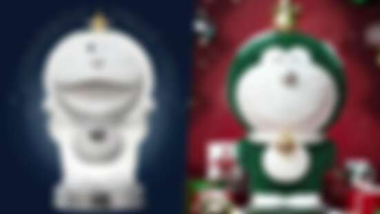 最萌的聖誕樹!Macott Station推出「哆啦A夢發光聖誕樹」雪白圓滾滾療癒登場