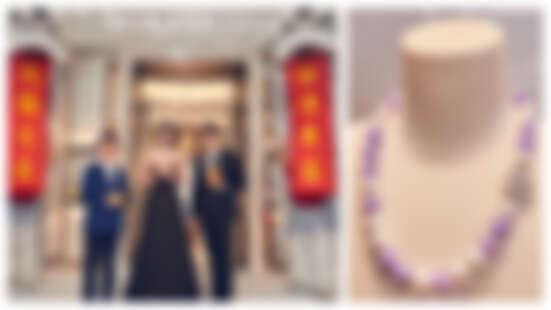 MIKIMOTO 台北101旗艦店開幕,日本It名媛名模森泉 Mori Izumi 站台剪綵,大器揭幕頂級珠寶展!