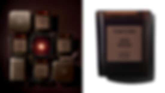 TOM FORD私人調香高級訂製香氛蠟燭系列,深棕色玻璃外殼搭配經典香味,一擺出來質感破表